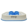 Scream SLOW FEED INTERACTIVE DOG BOWL Loud Blue 28x28x7cm - Click for more info