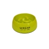 Scream ROUND SLOW-DOWN PILLAR BOWL 200ml Loud Green - Click for more info