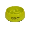 Scream ROUND SLOW-DOWN PILLAR BOWL 400ml Loud Green - Click for more info