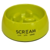 Scream ROUND SLOW-DOWN PILLAR BOWL 750ml Loud Green - Click for more info