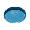 Scream OVAL CAT BOWL 300ml Loud Blue - Click for more info