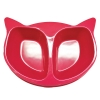 Scream CAT FACE DOUBLE BOWL 2 x 350ml Loud Pink - Click for more info