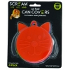 Scream CAT FOOD CAN COVER 4pk Assorted Colours - Click for more info