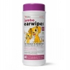 Petkin JUMBO EAR WIPES - 80pk - Click for more info