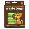 Petkin - BAMBOO ECO MEGA-ROLL WASTEBAGS 240pcs - Click for more info