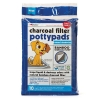 Petkin - CHARCOAL FILTER POTTYPADS 10pk - Click for more info