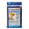 Petkin - CHARCOAL FILTER POTTYPADS 50pk - Click for more info