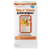Petkin BIG N' THICK PAW WIPES - 100pk - Click for more info