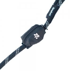 ZippyPaws - ADVENTURE LEASH BAG WASTE BAG DISPENSER - Volcano Black 9 x 6cm - Click for more info