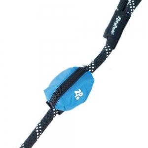 ZippyPaws - ADVENTURE LEASH BAG WASTE BAG DISPENSER - Glacier Blue 9 x 6cm - Click for more info