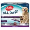 Simple Solution ALL DAY PREMIUM DOG PADS 58cm x 61cm - 100pk - Click for more info