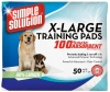 Simple Solution EXT LGE TRAINING PADS 71cm x 76cm - 50pk - Click for more info