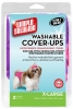Simple Solution WASHABLE COVER-UPS 2pk X-Large PINK & PURPLE - Click for more info