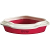 Scream CORNER LITTER TRAY Loud Pink 55x43x17cm - Click for more info