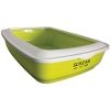 Scream RECTANGLE LITTER TRAY Loud Green 50x35x14cm - Click for more info
