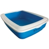 Scream RECTANGLE LITTER TRAY Loud Blue 50x35x14cm - Click for more info