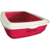 Scream RECTANGLE LITTER TRAY Loud Pink 50x35x14cm - Click for more info
