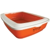 Scream RECTANGLE LITTER TRAY Loud Orange 50x35x14cm - Click for more info