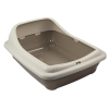 ZEEZ BIRBA LITTER TRAY Large 56x39x21cm Mocaccino - Click for more info