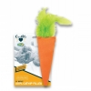 Cosmic CATNIP FILLED TOY CARROT - 16.5cm - Click for more info