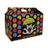 Scream CARDBOARD PET SHUTTLE 44x25x28cm Loud Multicolour - Click for more info