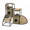 "ZeeZ FELINE CORNER HIDEAWAY FUN HOUSE 48 x 32 x 44"" - Click for more info"