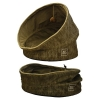 ZeeZ POP UP PET CAVE WITH CUSHION Bark Brown 47x47x69cm - Click for more info