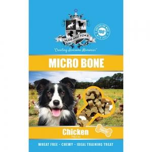 Huds and Toke - SEMI MOIST MICRO BONES CHICKEN 150g - Click for more info