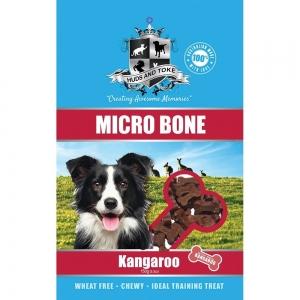 Huds and Toke - SEMI MOIST MICRO BONES KANGAROO 150g - Click for more info