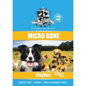 Huds and Toke - SEMI MOIST MICRO BONES CHICKEN 1kg - Click for more info