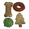 Huds and Toke - CHRISTMAS DOGGY COOKIE MIX 4pk - Click for more info