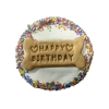 Huds and Toke - YOGHURT FROSTED DOGGY BIRTHDAY CAKE 12cm - Click for more info