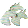 Huds and Toke - RAINBOW UNICORN DOG COOKIE 3pk - Click for more info