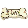Huds and Toke - B'DAY LARGE BONE COOKIE 1pk - Click for more info