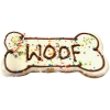 Huds and Toke - WOOF LARGE BONE COOKIE 1pk - Click for more info