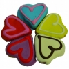 Huds and Toke - LITTLE DOGGY LOVE HEART COOKIES 5pk - Click for more info