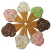 Huds and Toke - ICECREAM CONE COOKIES (8cm) 4pk - Click for more info