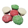 Huds and Toke - CHRISTMAS FROSTED MUTT PUDDING BULK 30pk - Click for more info