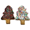 Huds and Toke - CAROB & YOGHURT FROSTED XMAS TREE BULK 36pk - Click for more info