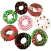 Huds and Toke - LITTLE CHRISTMAS DOGGY DONUTS BULK 40pk - Click for more info