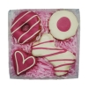Huds and Toke - PINK COOKIE MIX GIFT BOX (4 Cookies) - Click for more info