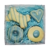 Huds and Toke - BLUE COOKIE MIX GIFT BOX (4 Cookies) - Click for more info