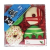 Huds and Toke - LARGE DOGGY CHRISTMAS GIFT BOX (4 Cookies) - Click for more info