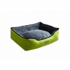 Scream RECTANGLE BOLSTER BED Loud Green 90x68x24cm - Click for more info
