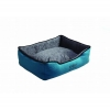 Scream RECTANGLE BOLSTER BED Loud Blue 80x64x24cm - Click for more info