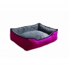 Scream RECTANGLE BOLSTER BED Loud Pink 80x64x24cm - Click for more info