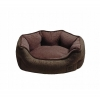 ZEEZ OVAL CUDDLER BED Brown Small 50x40x20cm - Click for more info