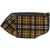 Prestige COSY-FLEECE DOG VEST S4 (24cm) Brown/Beige Check - Click for more info