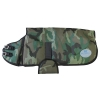 Designer Collection DOG COAT Size XS (10-14) Camo Green - Click for more info