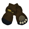 ZEEZ NON-SLIP PET SOCKS BROWN BEE Large (3.5 x 9cm) - Click for more info